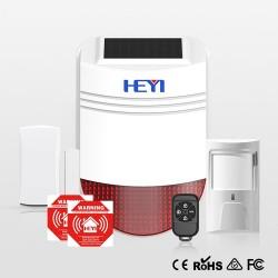 Alarm security solar alarm...