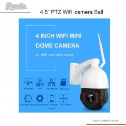 Wifi motorized security camera